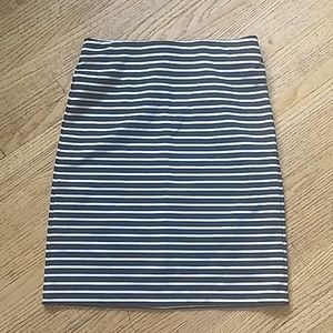 Old Navy striped tight skirt Size Small